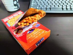ポッキーとプリッツは11月になると食べたくなるのです。