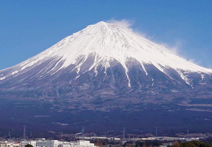 富士山が綺麗に雪化粧したので「静岡県富士山世界遺産センター」に行ってきました!!