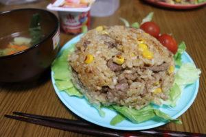 誰かが自分のために作ってくれたご飯は、とても美味しいのです。【ペッパーライス】
