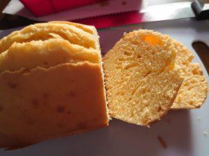小麦粉などの分量を測らずに感覚だけで美味しいパウンドケーキを作れるようになりました。